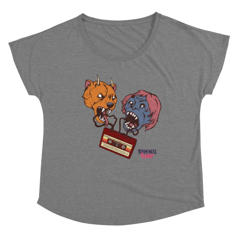 Terminal Punks - Retro Cassette Women's Scoop Neck by Mad Cave Studios's Artist Shop