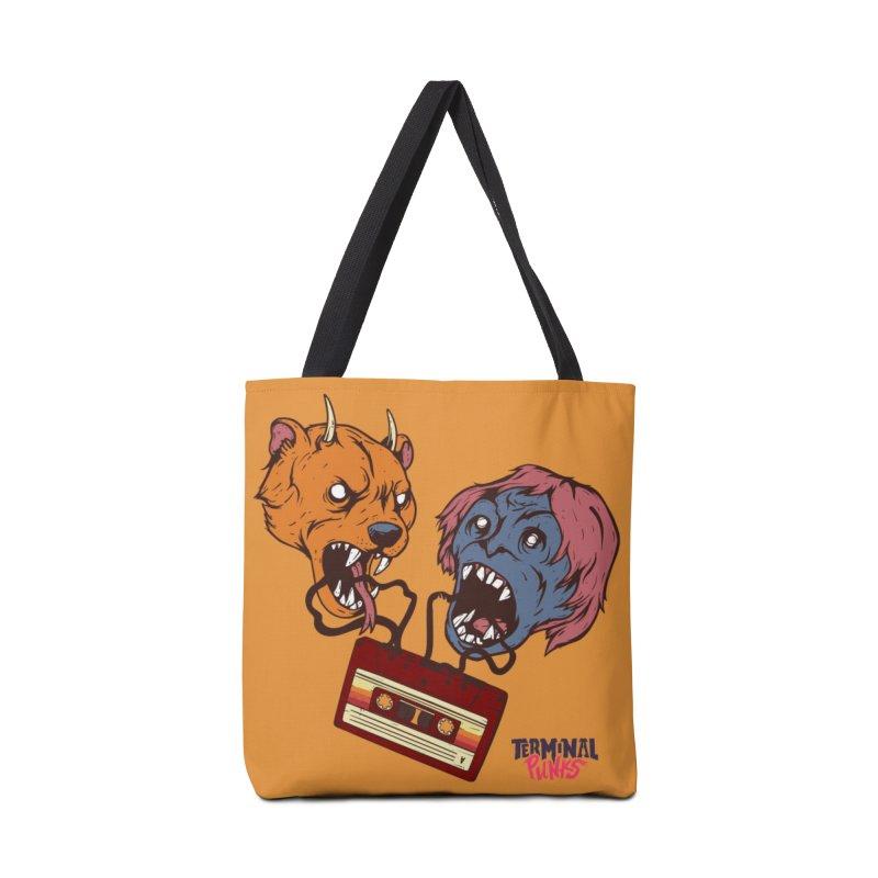 Terminal Punks - Retro Cassette Accessories Bag by Mad Cave Studios's Artist Shop