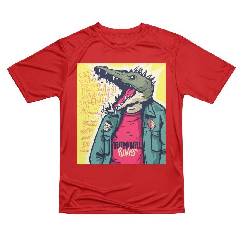 Terminal Punks - Punk-Croc Women's T-Shirt by Mad Cave Studios's Artist Shop