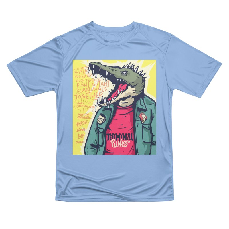 Terminal Punks - Punk-Croc Women's T-Shirt by Mad Cave Studios's Artist Shop
