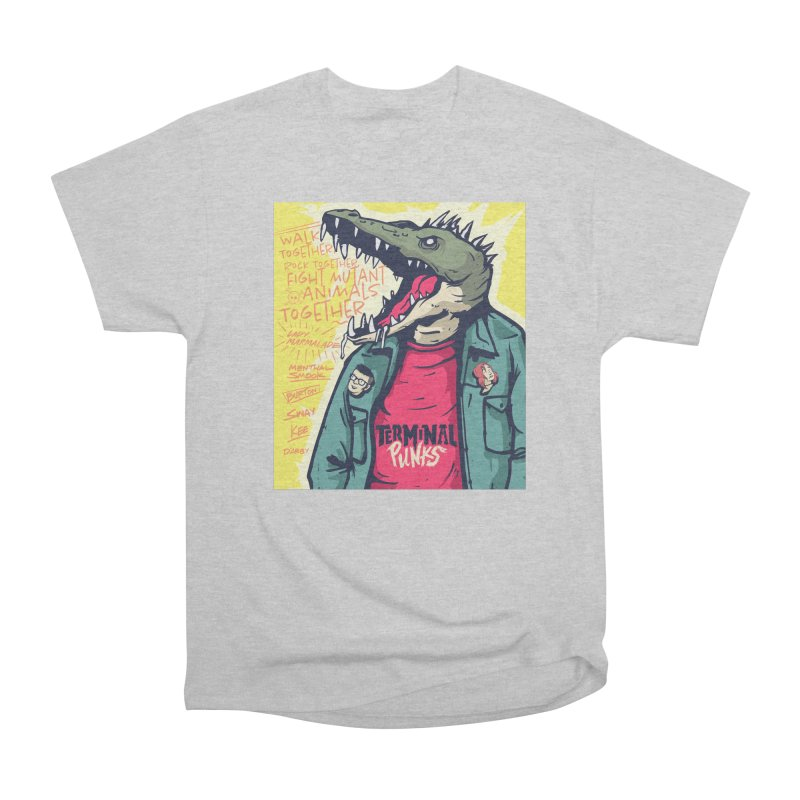 Terminal Punks - Punk-Croc Men's T-Shirt by Mad Cave Studios's Artist Shop