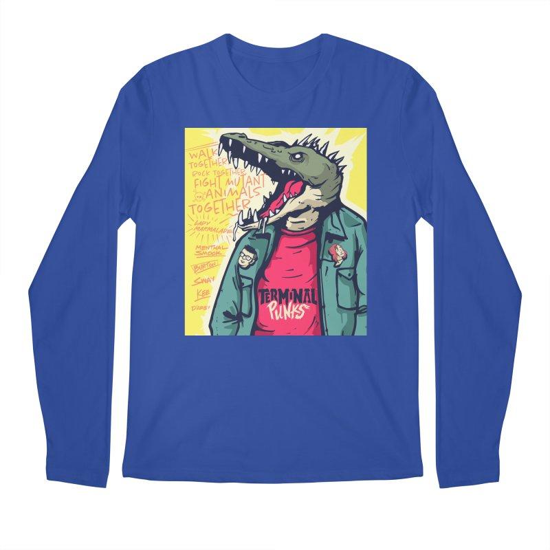 Terminal Punks - Punk-Croc Men's Longsleeve T-Shirt by Mad Cave Studios's Artist Shop