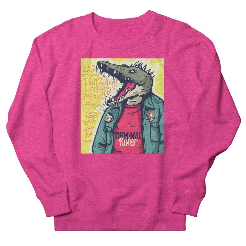 Terminal Punks - Punk-Croc Women's Sweatshirt by Mad Cave Studios's Artist Shop