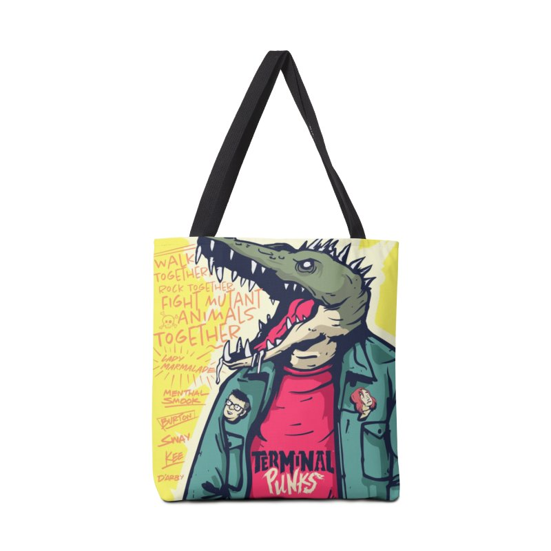 Terminal Punks - Punk-Croc Accessories Bag by Mad Cave Studios's Artist Shop