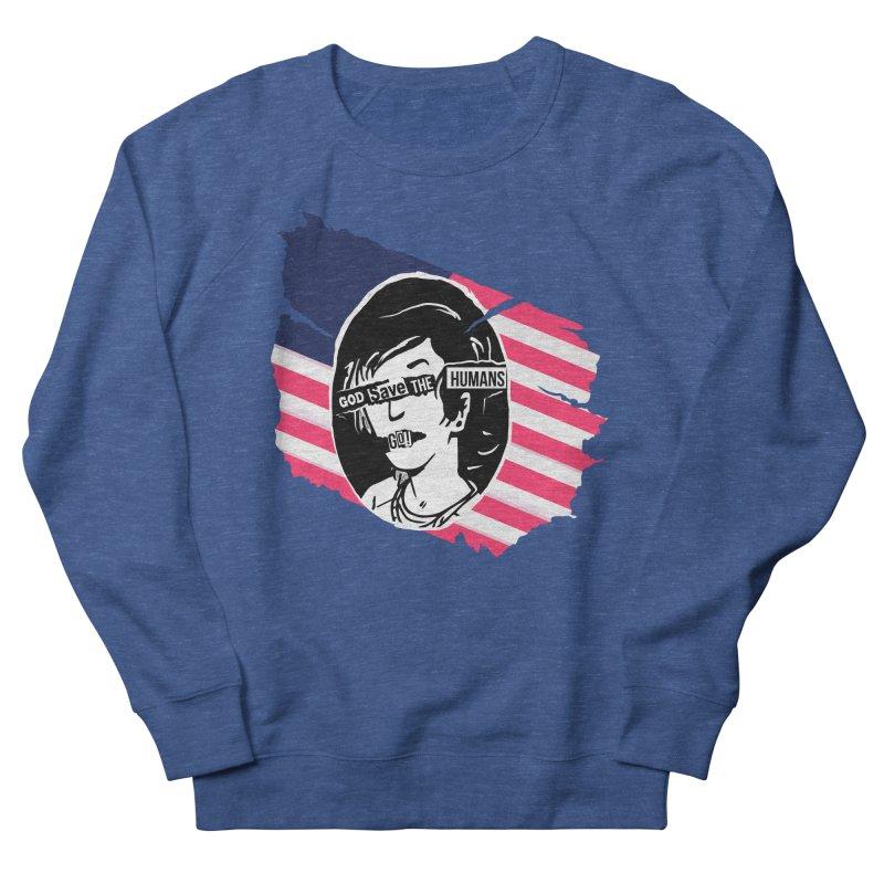 Terminal Punks - God Save the Humans Men's Sweatshirt by Mad Cave Studios's Artist Shop