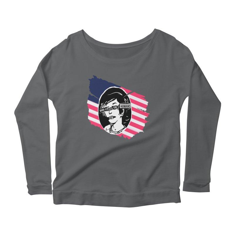 Terminal Punks - God Save the Humans Women's Longsleeve T-Shirt by Mad Cave Studios's Artist Shop