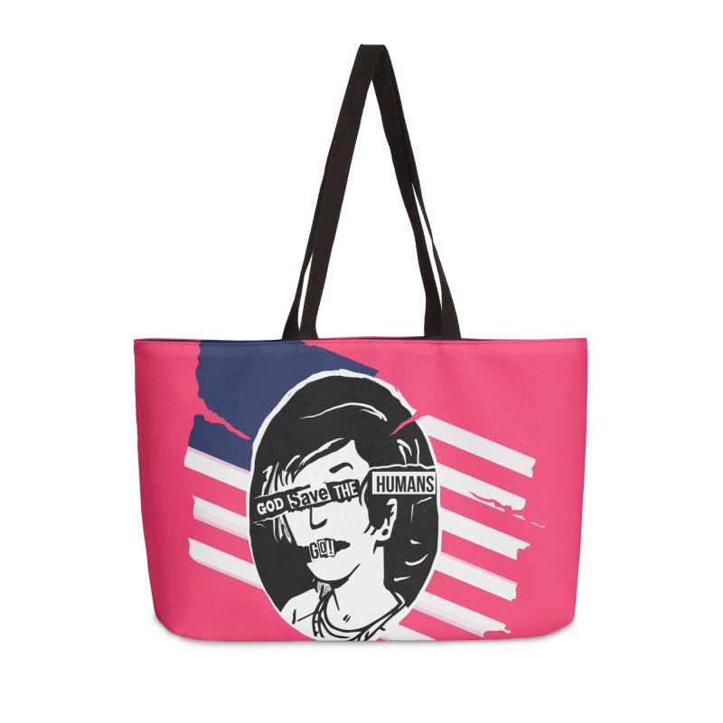 Terminal Punks - God Save the Humans Accessories Bag by Mad Cave Studios's Artist Shop