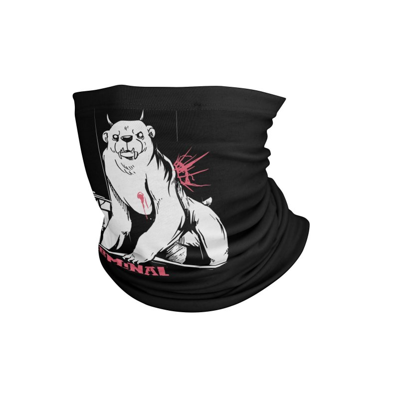 Terminal Punks - Menthal Smook Accessories Neck Gaiter by Mad Cave Studios's Artist Shop