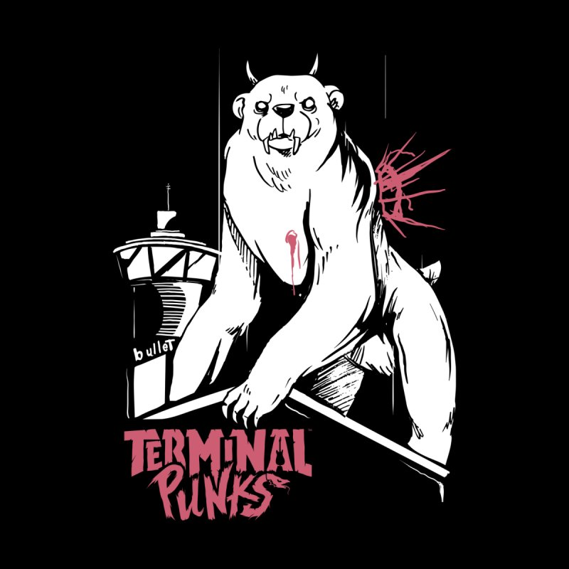 Terminal Punks - Menthal Smook​ Home Framed Fine Art Print by Mad Cave Studios's Artist Shop
