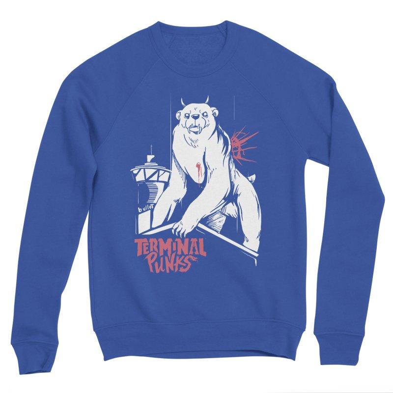 Terminal Punks - Menthal Smook Men's Sweatshirt by Mad Cave Studios's Artist Shop