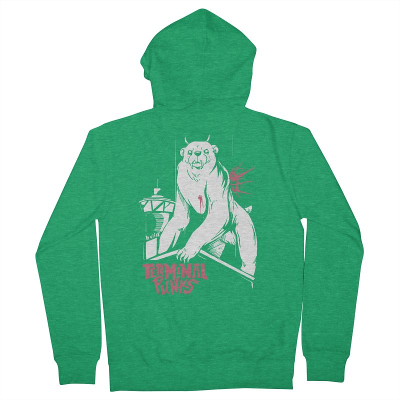 Terminal Punks - Menthal Smook Men's Zip-Up Hoody by Mad Cave Studios's Artist Shop