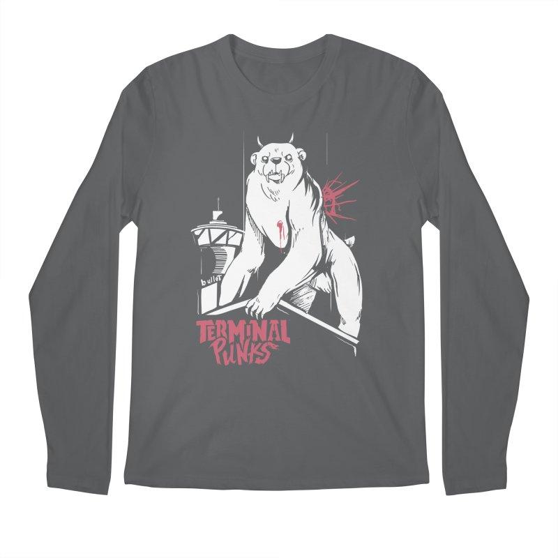 Terminal Punks - Menthal Smook Men's Longsleeve T-Shirt by Mad Cave Studios's Artist Shop