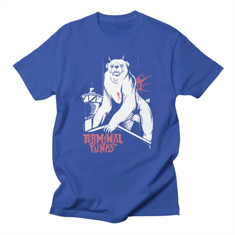 Terminal Punks - Menthal Smook Men's T-Shirt by Mad Cave Studios's Artist Shop