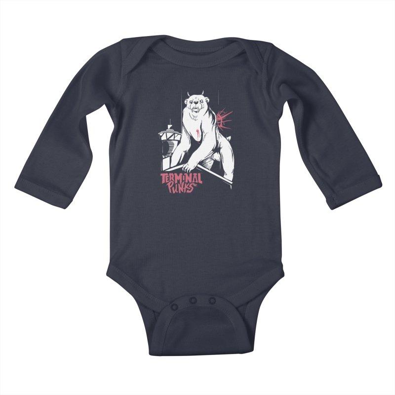 Terminal Punks - Menthal Smook Kids Baby Longsleeve Bodysuit by Mad Cave Studios's Artist Shop