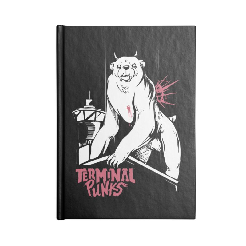 Terminal Punks - Menthal Smook Accessories Notebook by Mad Cave Studios's Artist Shop