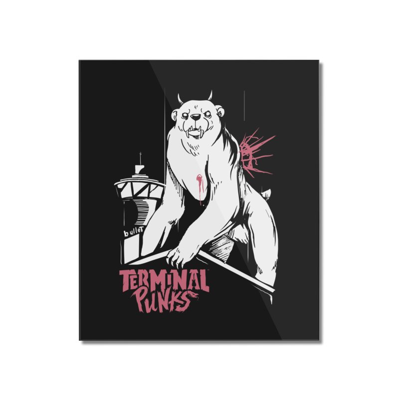 Terminal Punks - Menthal Smook​ Home Mounted Acrylic Print by Mad Cave Studios's Artist Shop