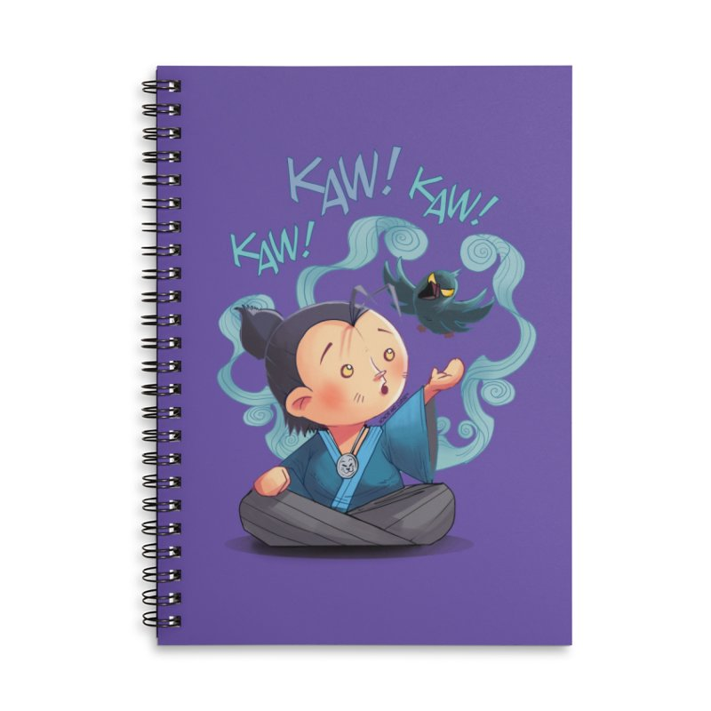 Honor and Curse - Genshi and Tengu Accessories Notebook by Mad Cave Studios's Artist Shop