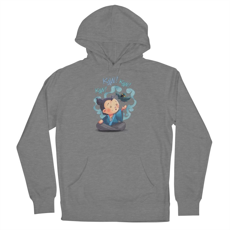 Honor and Curse - Genshi and Tengu Women's Pullover Hoody by Mad Cave Studios's Artist Shop