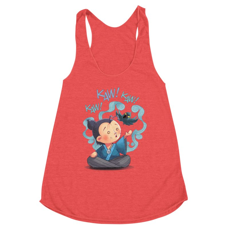 Honor and Curse - Genshi and Tengu Women's Tank by Mad Cave Studios's Artist Shop