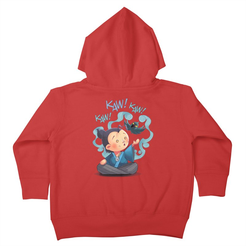 Honor and Curse - Genshi and Tengu Kids Toddler Zip-Up Hoody by Mad Cave Studios's Artist Shop