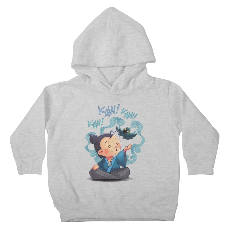 Honor and Curse - Genshi and Tengu Kids Toddler Pullover Hoody by Mad Cave Studios's Artist Shop