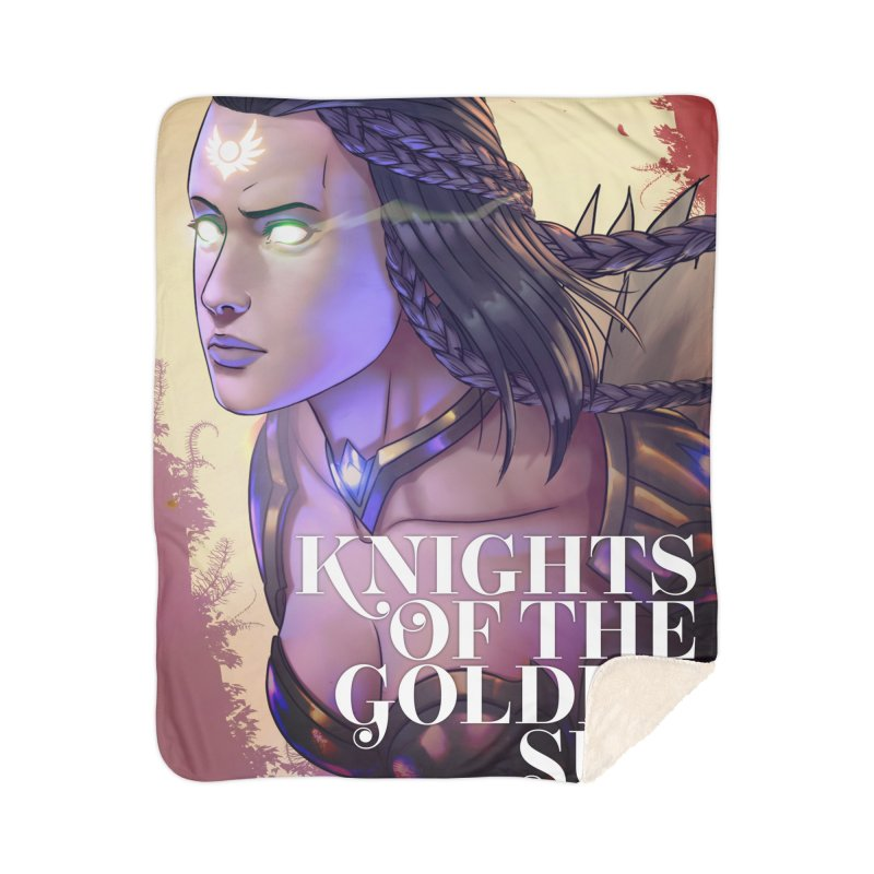 Knights of The Golden Sun - Uriel Home Blanket by Mad Cave Studios's Artist Shop