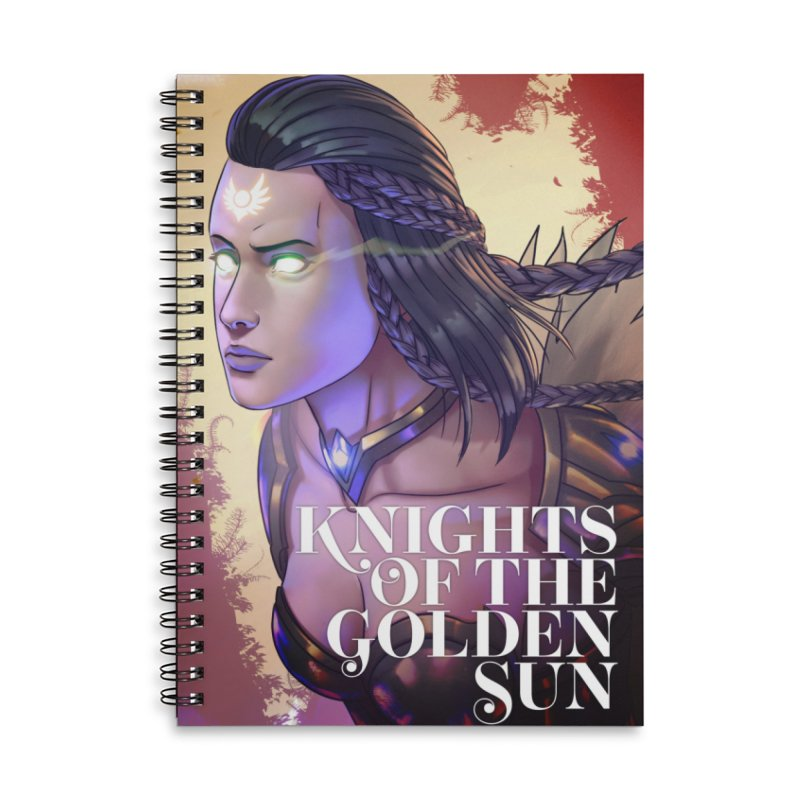 Knights of The Golden Sun - Uriel Accessories Notebook by Mad Cave Studios's Artist Shop