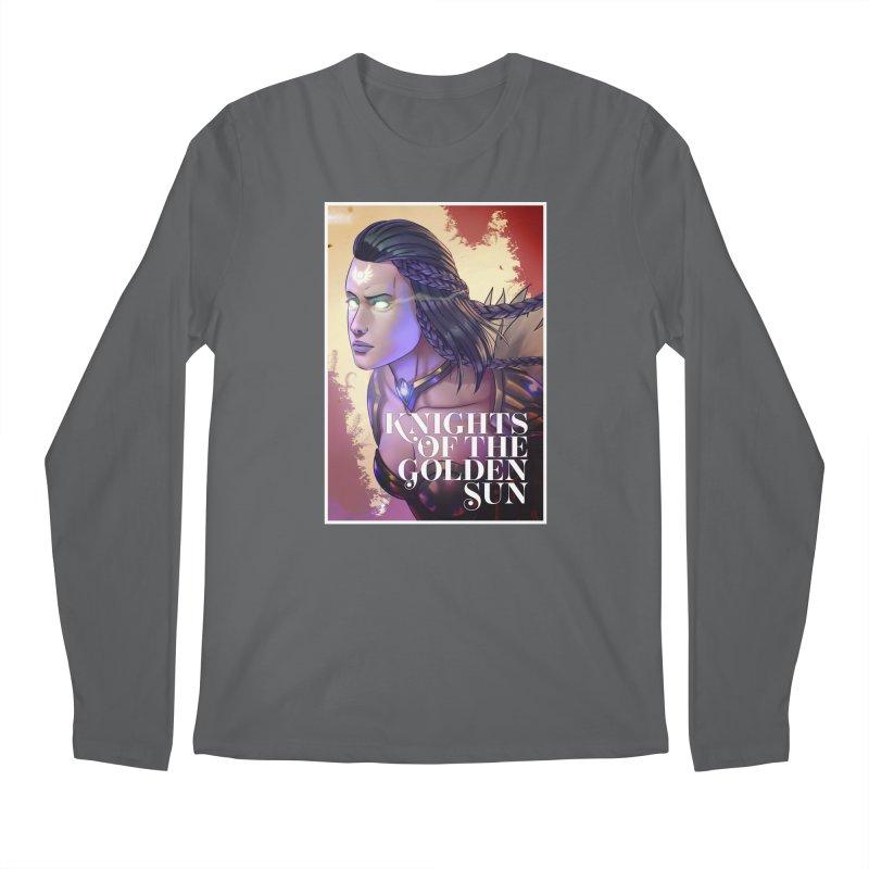 Knights of The Golden Sun - Uriel Men's Longsleeve T-Shirt by Mad Cave Studios's Artist Shop
