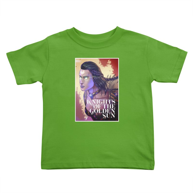Knights of The Golden Sun - Uriel Kids Toddler T-Shirt by Mad Cave Studios's Artist Shop