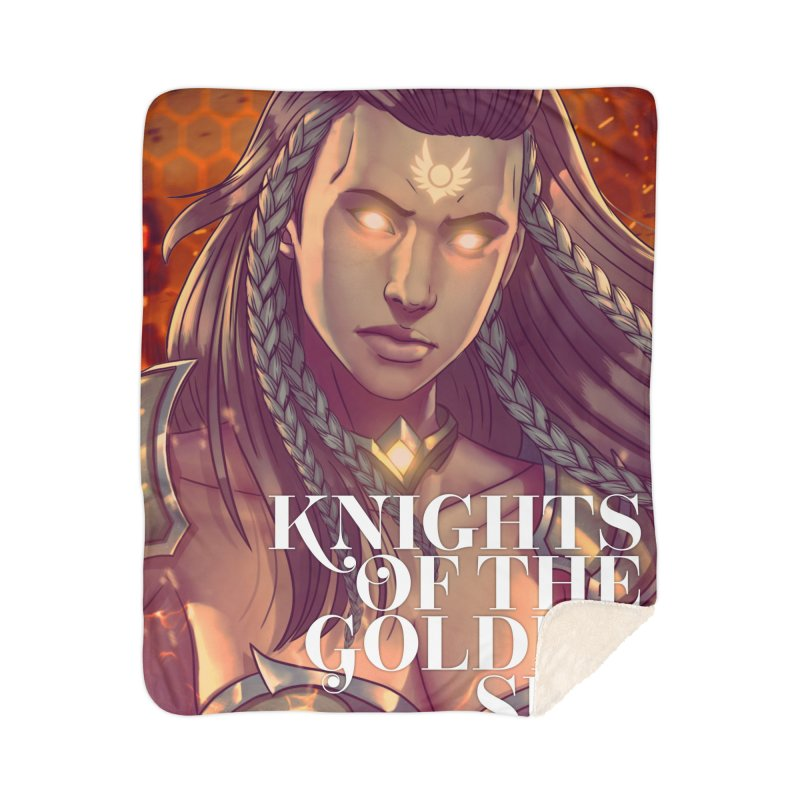 Knights of The Golden Sun - Gabrielle Home Blanket by Mad Cave Studios's Artist Shop