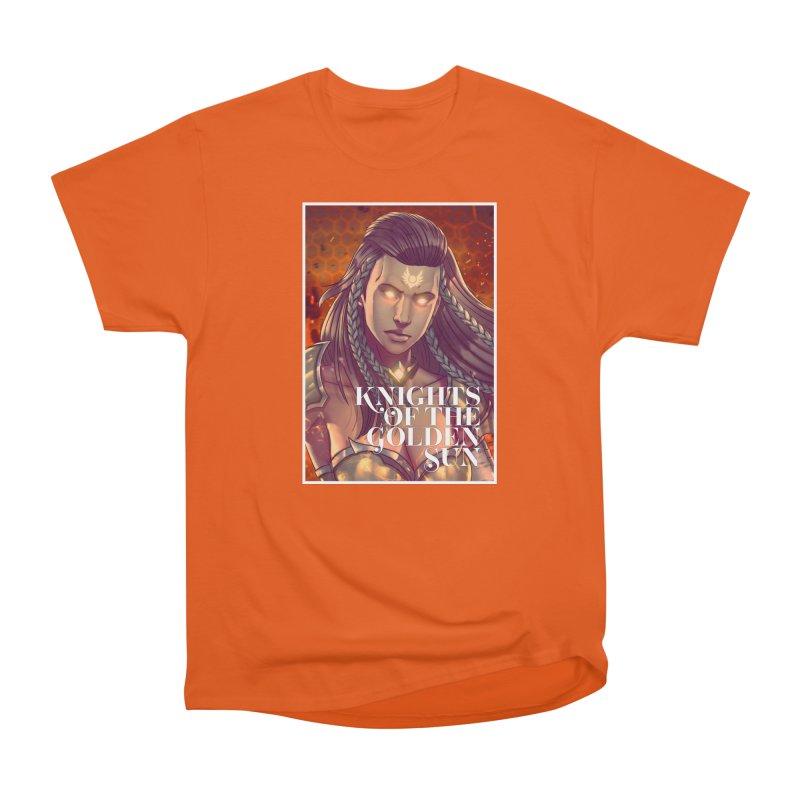 Knights of The Golden Sun - Gabrielle Women's T-Shirt by Mad Cave Studios's Artist Shop
