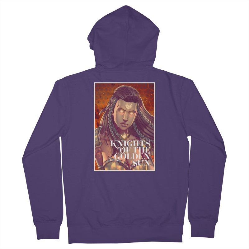 Knights of The Golden Sun - Gabrielle Women's Zip-Up Hoody by Mad Cave Studios's Artist Shop