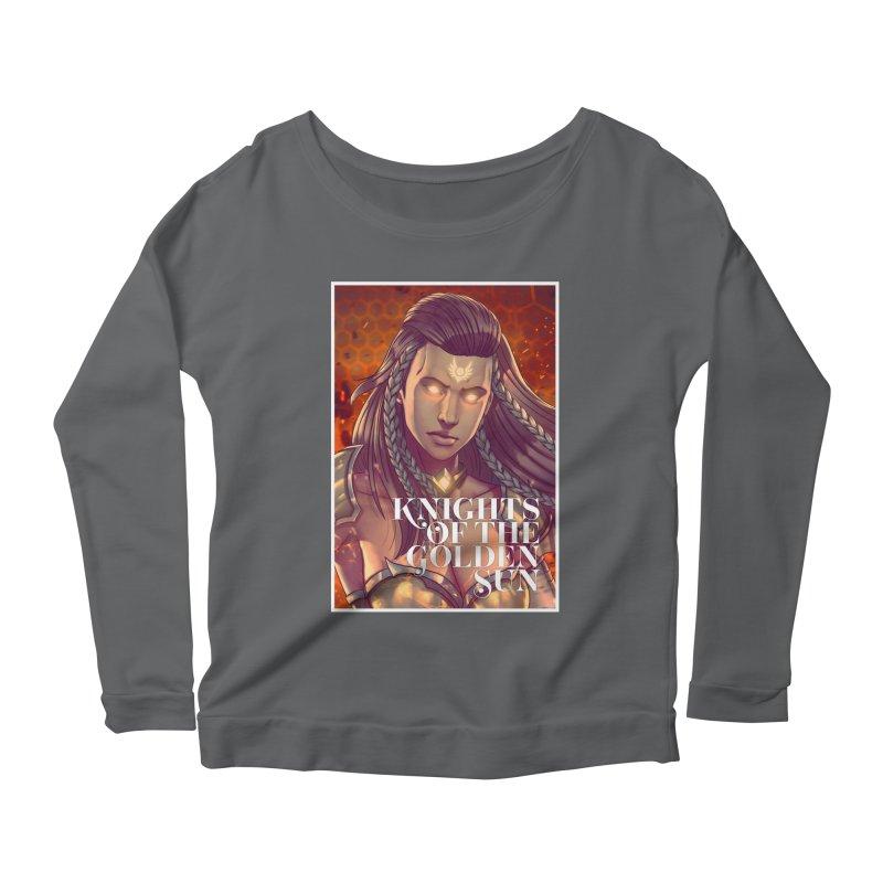 Knights of The Golden Sun - Gabrielle Women's Longsleeve T-Shirt by Mad Cave Studios's Artist Shop