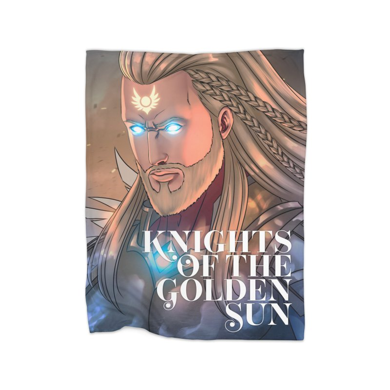 Knights of The Golden Sun - Michael Home Blanket by Mad Cave Studios's Artist Shop