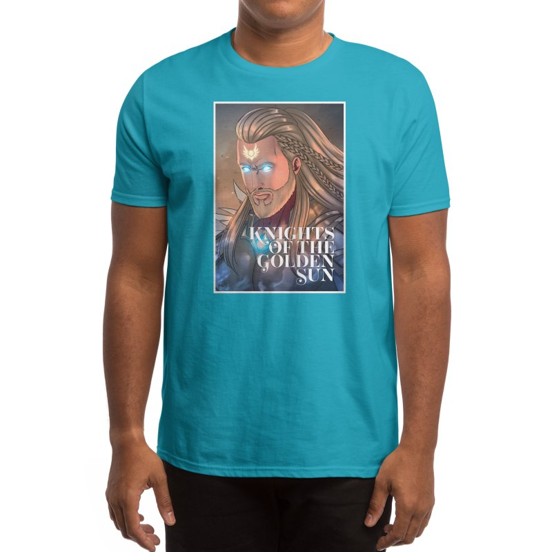 Knights of The Golden Sun - Michael Men's T-Shirt by Mad Cave Studios's Artist Shop