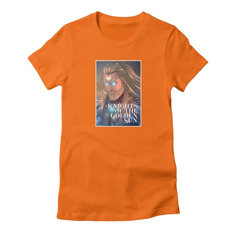 Knights of The Golden Sun - Michael Women's T-Shirt by Mad Cave Studios's Artist Shop