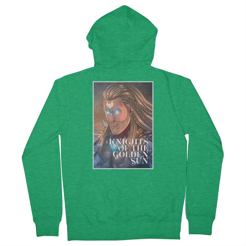 Knights of The Golden Sun - Michael Women's Zip-Up Hoody by Mad Cave Studios's Artist Shop