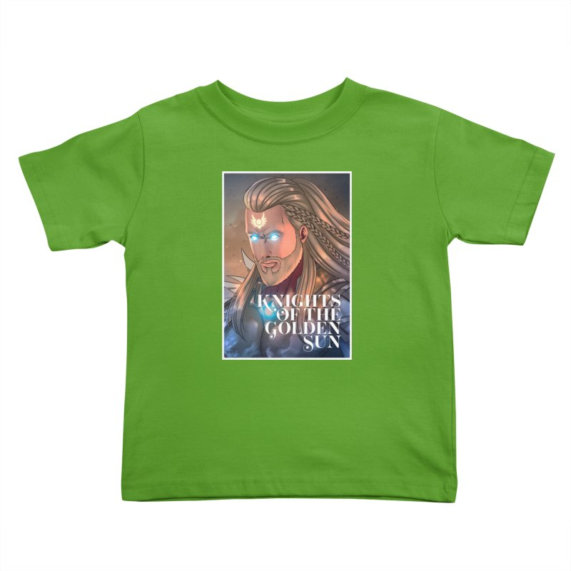 Knights of The Golden Sun - Michael Kids Toddler T-Shirt by Mad Cave Studios's Artist Shop