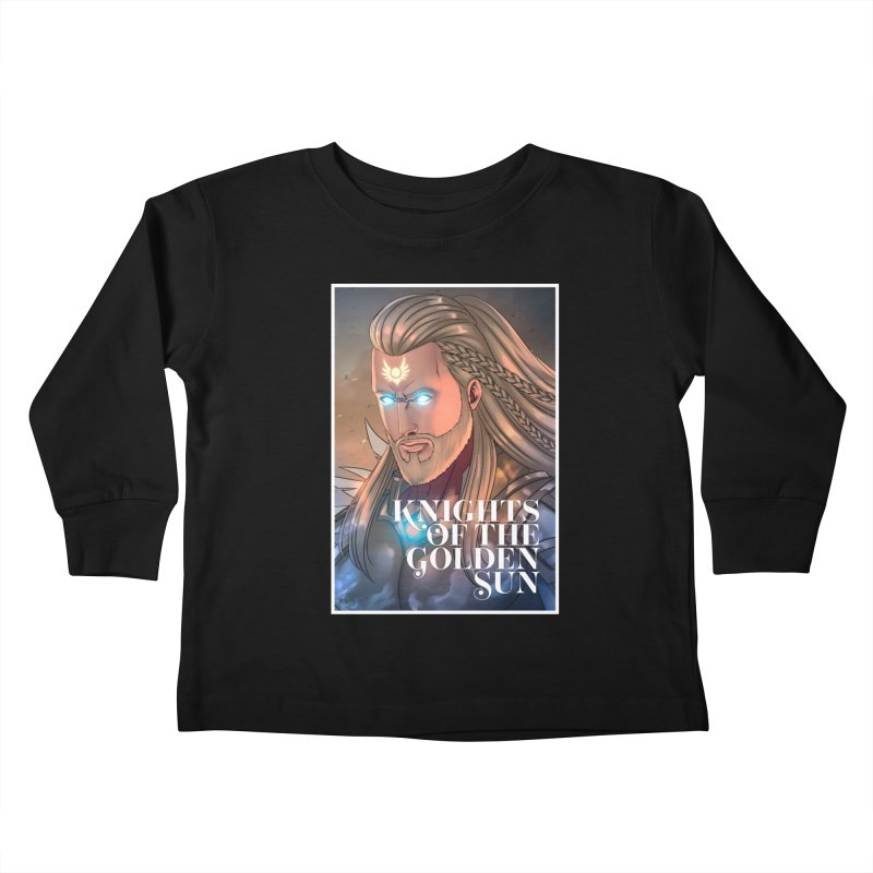 Knights of The Golden Sun - Michael Kids Toddler Longsleeve T-Shirt by Mad Cave Studios's Artist Shop