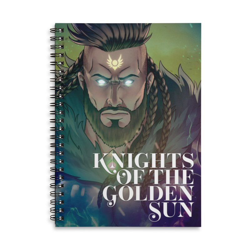 Knights of The Golden Sun - Raphael Accessories Notebook by Mad Cave Studios's Artist Shop