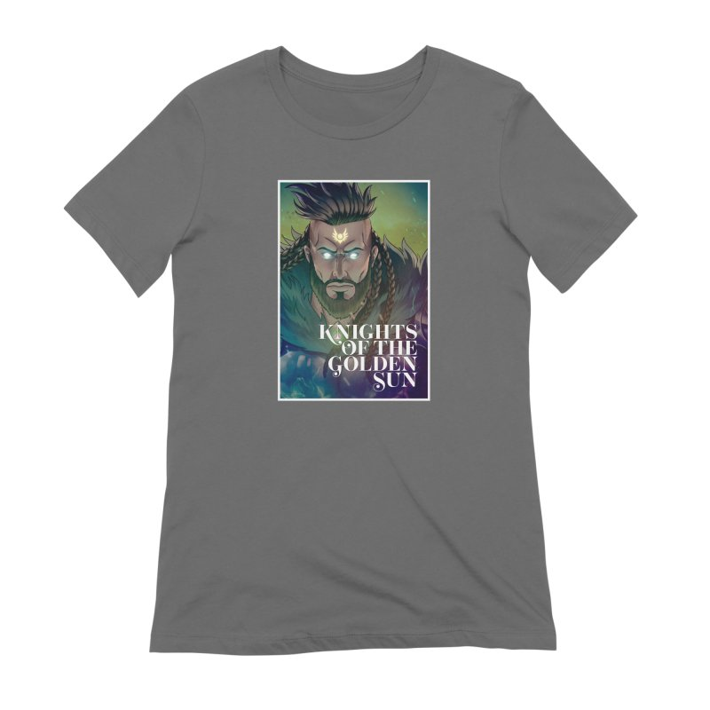Knights of The Golden Sun - Raphael Women's T-Shirt by Mad Cave Studios's Artist Shop