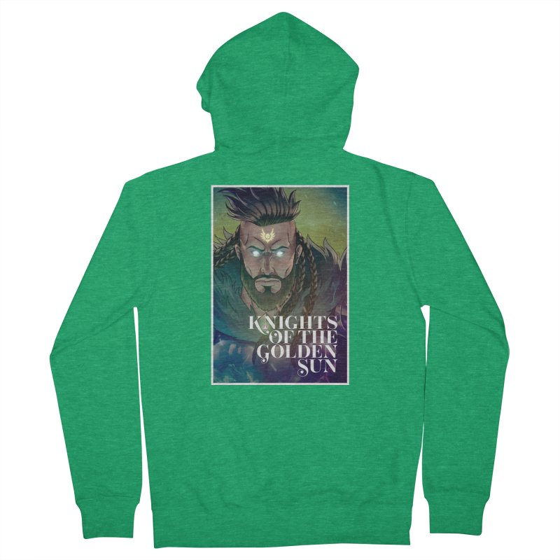 Knights of The Golden Sun - Raphael Men's Zip-Up Hoody by Mad Cave Studios's Artist Shop