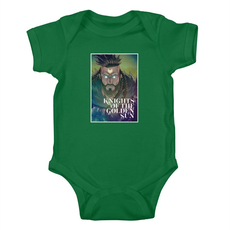 Knights of The Golden Sun - Raphael Kids Baby Bodysuit by Mad Cave Studios's Artist Shop