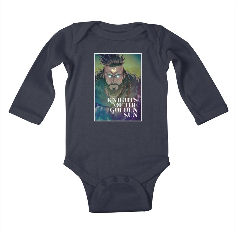 Knights of The Golden Sun - Raphael Kids Baby Longsleeve Bodysuit by Mad Cave Studios's Artist Shop