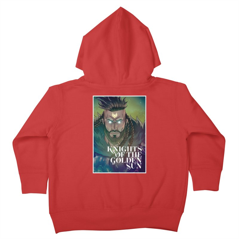 Knights of The Golden Sun - Raphael Kids Toddler Zip-Up Hoody by Mad Cave Studios's Artist Shop