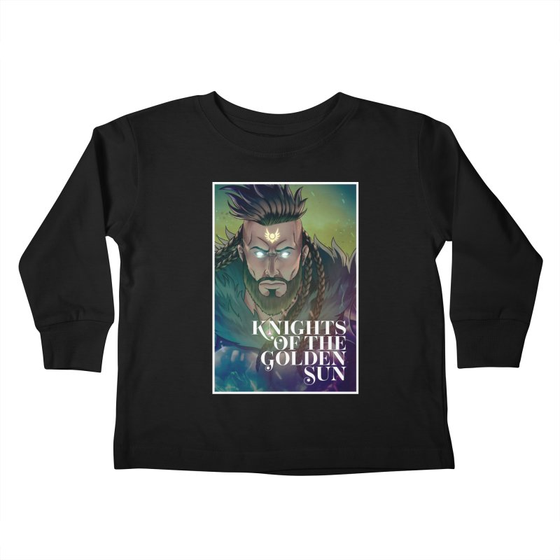 Knights of The Golden Sun - Raphael Kids Toddler Longsleeve T-Shirt by Mad Cave Studios's Artist Shop