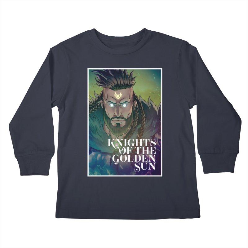 Knights of The Golden Sun - Raphael Kids Longsleeve T-Shirt by Mad Cave Studios's Artist Shop