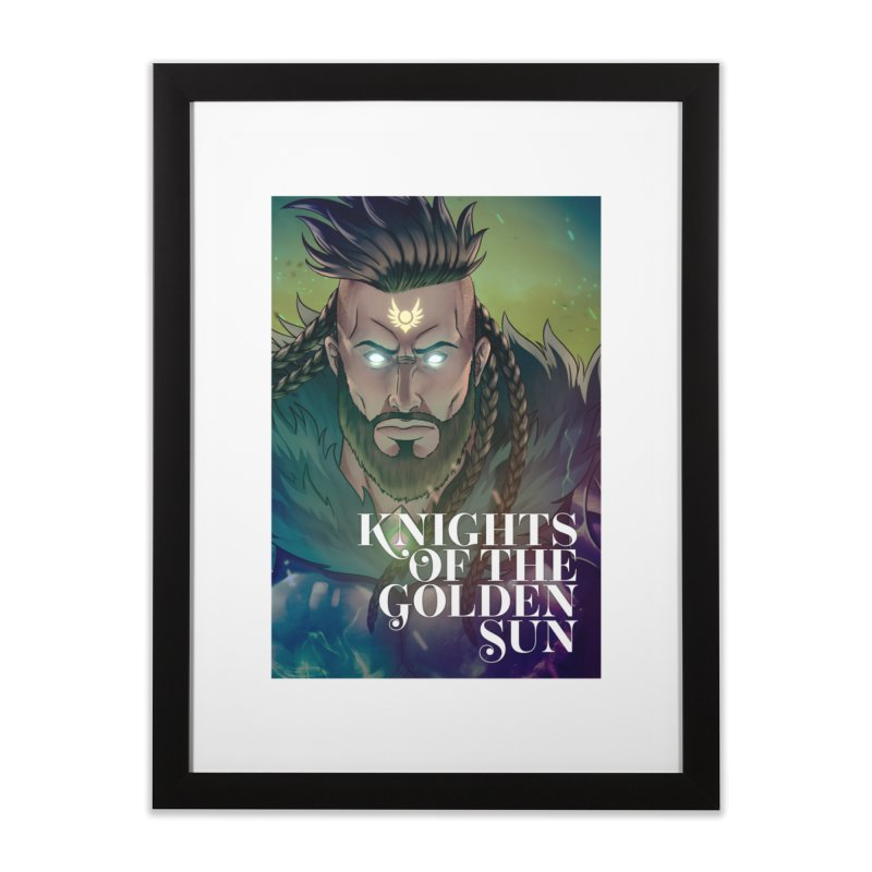 Knights of The Golden Sun - Raphael Home Framed Fine Art Print by Mad Cave Studios's Artist Shop