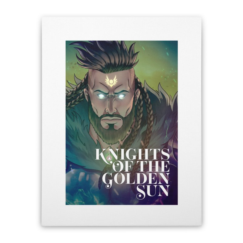 Knights of The Golden Sun - Raphael Home Stretched Canvas by Mad Cave Studios's Artist Shop