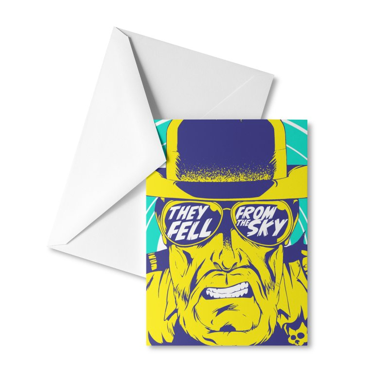 They Fell From The Sky Accessories Greeting Card by Mad Cave Studios's Artist Shop
